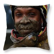 Racetrack Heroes 7 Throw Pillow