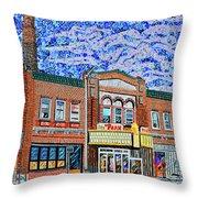 Racine, Wisconsin Throw Pillow