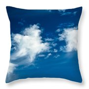 Racing Star Throw Pillow