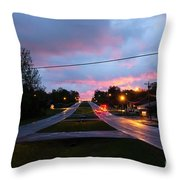 Radcliff Kentucky Morning Throw Pillow