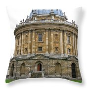 Radcliffe Camera Throw Pillow