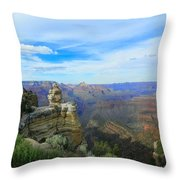 Radiant View Throw Pillow