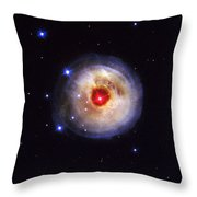 Radiation From A Stellar Burst Throw Pillow
