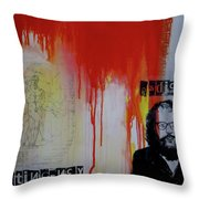 Radical Contingency Throw Pillow