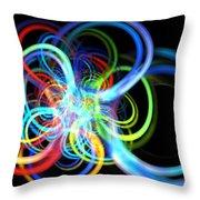 Radius Rainbow Throw Pillow
