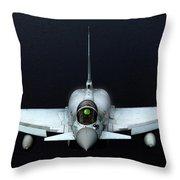 Raf Typhoon Inflight Throw Pillow