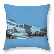 Raf Wildcat Fm-2 Throw Pillow