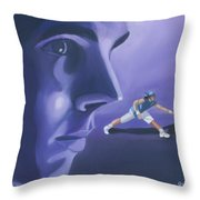 Rafael Nadal Throw Pillow