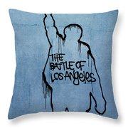 Rage Against Machine Throw Pillow