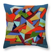 Rage Against The Box Throw Pillow