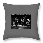 Rage Against The Machine Throw Pillow