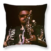 Rahsaan Roland Kirk 3 Throw Pillow