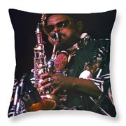 Rahsaan Roland Kirk 4 Throw Pillow