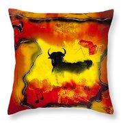 Raices - My Roots Throw Pillow
