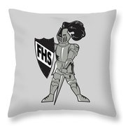 Raider Throw Pillow
