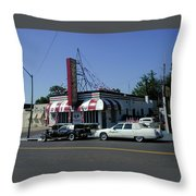 Raifords Disco Memphis A Throw Pillow