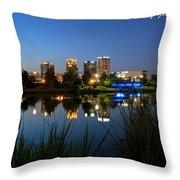 Railraod Park Bham, Al Throw Pillow