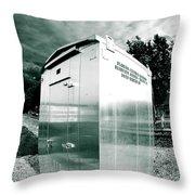 Railroad Box 86 Throw Pillow