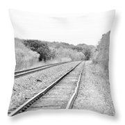 Rails 004 Throw Pillow