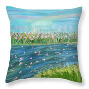 Rain And Shine Throw Pillow
