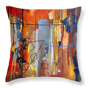 Rain Down Throw Pillow