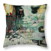 Rain In My Soul Throw Pillow