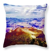 Rain Is Coming Throw Pillow