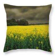 Rain Is On Its Way Throw Pillow