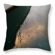 Rain Throw Pillow