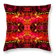 Hard Rain Throw Pillow