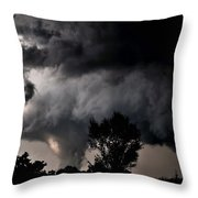 Rain Shaft 01 Throw Pillow