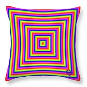 Rainbow #1 Throw Pillow