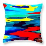 Rainbow 4 Throw Pillow