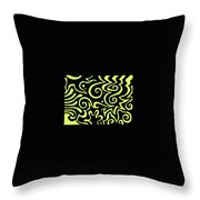 Rainbow Abstract 4 Of 6 Throw Pillow