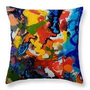 Seahorse Emerging Throw Pillow