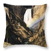 Rainbow Falls 2 Throw Pillow