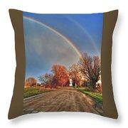 Rainbow Hdr Throw Pillow