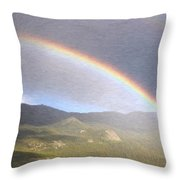 Rainbow - Id 16217-152042-2683 Throw Pillow