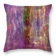 Rainbow In The Dark Throw Pillow