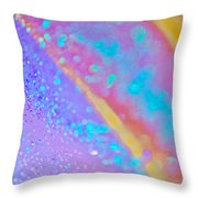 Rainbow Spell 2 Throw Pillow