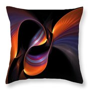 Rainbow Tango Throw Pillow