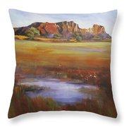 Rainbow Valley  Australia Throw Pillow