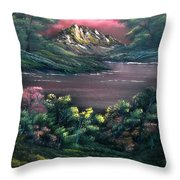 Rainbow Valley Throw Pillow