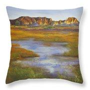Rainbow Valley Northern Territory Australia Throw Pillow