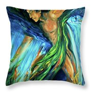 Raindancer Throw Pillow