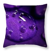 Raindrop, Prn Throw Pillow