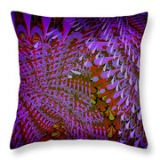 Raindrops Keep Falling On My Bed Throw Pillow