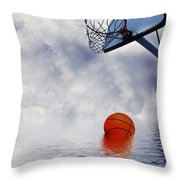 Rained Out Game Throw Pillow