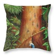 Rainforest Babies Throw Pillow