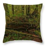 Rainforest Nurse Throw Pillow